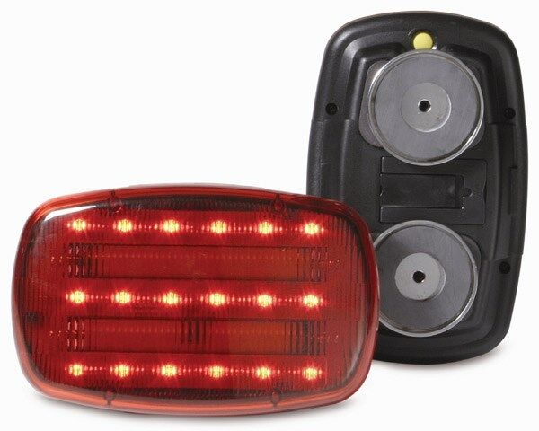 Max Load 35706.0 Magnetic Red LED Safety Light