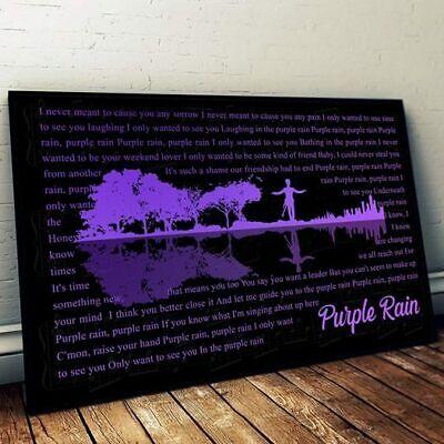 "inch PRINCE Poster Wall Print 24/"" x 36/"" 7"