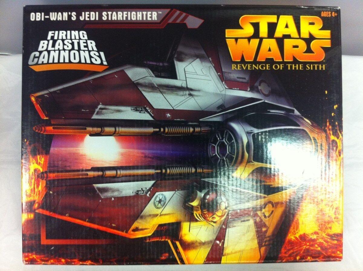 Star Wars ROTS Obi-Wan's Jedi Starfighter Hasbro 2005