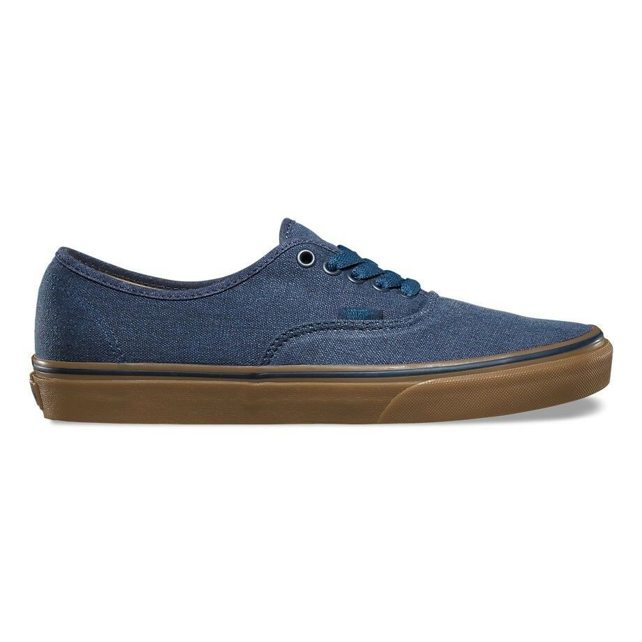 VANS Authentic (Washed Canvas) Dress Blaus/Gum Skate Skate Blaus/Gum Schuhes WOMEN'S 8 9431a0