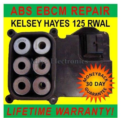EBCM COMPUTER MODULE REPAIR   SERVICE 125 RWAL ABS FITS DODGE RAM 1500