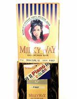 Shake N Go Milky Way 100% Human Hair Diva Curl 12 Wavy Weaving Hair