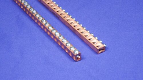 """Machine-Pro Products GB174 UL Copper Neutral Bus Ground Bar Kit /& Terminals 69/"""""""
