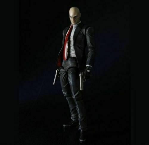 Play Arts Kai Hitman Absolution Agent 47 Pvc Action Figure For