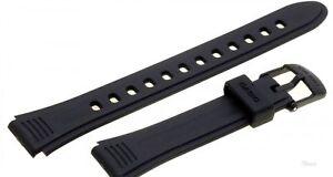 Zubehör Original Casio Armband Resin Ersatzband Für Casio Lw-201 Watch Strap