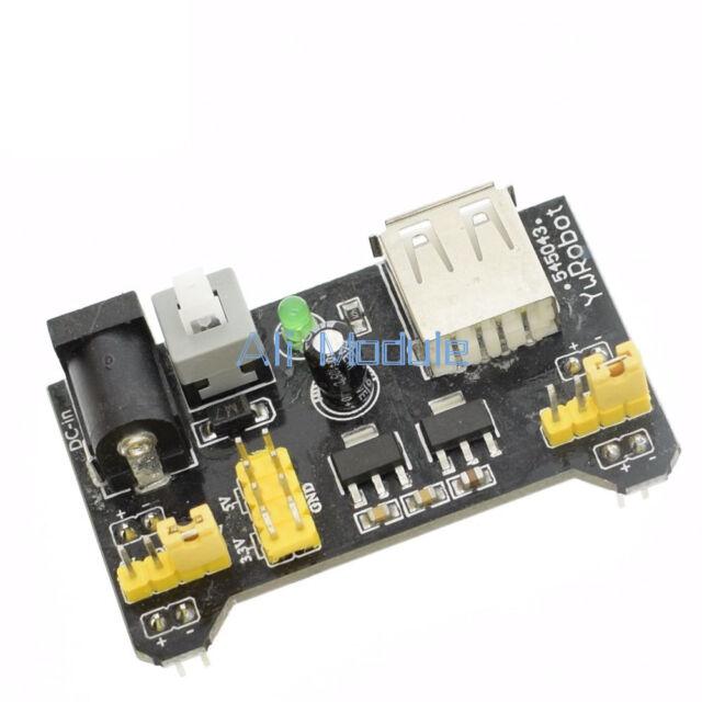 1PCS MB102 3.3V/5V Breadboard Power Supply Module For Solderless Bread Module