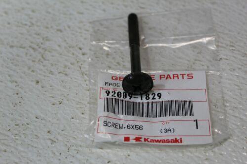 OEM Kawasaki Screw 6x56 for EN500 KRF750 ZX636 ZX600 1998-2013 92009-1829