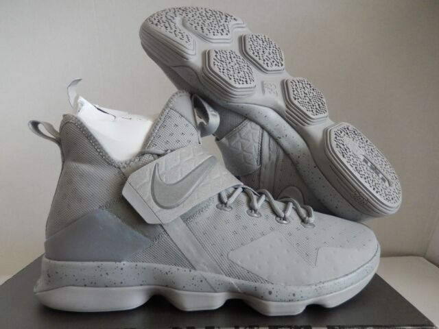 0dfde7530f8 Nike Lebron XIV 14 Men s Basketball Shoes Gray Silver 852405 007 for ...