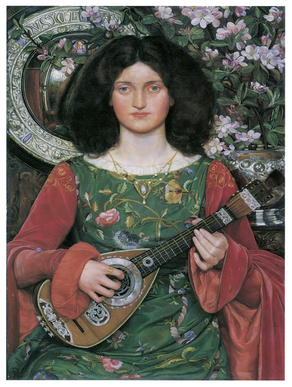 1179.Guitar Music Barroque Art Decoration POSTER.Graphics to decorate home.