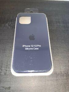 Apple Coque en Silicone pour Apple iPhone 12/12 Pro - Bleu
