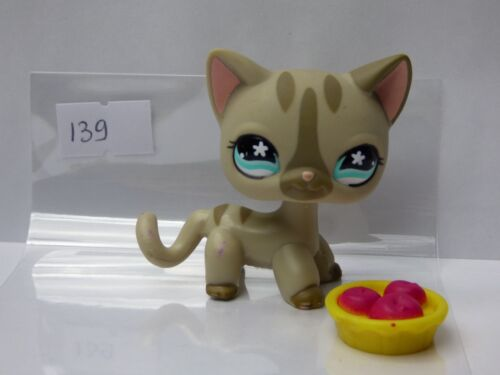 authentic Petshop LPS Hasbro CAT CHAT EUROPEEN 792 REF 139