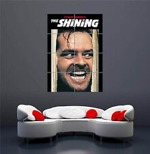 THE SHINING MOVIE JACK NICHOLSON JOHNNY NEW GIANT WALL ART PRINT POSTER OZ662
