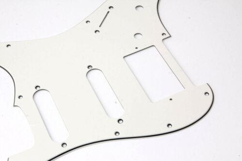 HSS Pickguard Parchment Typ2 fits 64/'US-Vint.//Mex Fender Strat ®