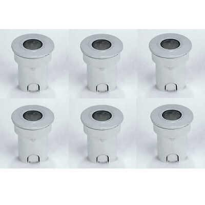 Led Wandeinbauleuchten Treppenlampen  lampe Einbaustrahler Edelstahl 10er-Set