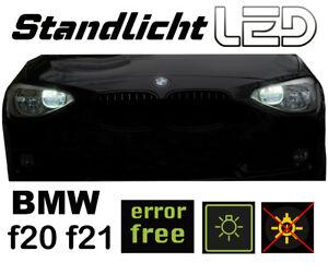 POUR-BMW-f20-f21-1er-2-lampes-a-DEL-Feu-De-Position-Xenon-Blanc-effet-stanlichtlampen