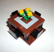 LEGO Furniture Dining Room Table 4MOCSET 10224 10243 10185 10197 10211 10182