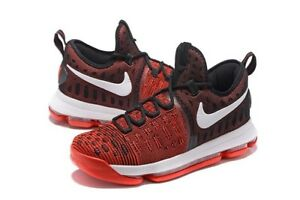 timeless design e1211 981a8 Image is loading Nike-Zoom-KD-9-University-Red-Black-Hard-