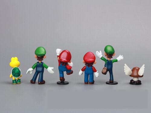 Super Mario 18 pcs Figur Set Q Ausführung Puppen Sammlung Klassisch Spielzeug
