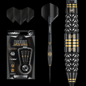 Winmau 1409 Aspria Dual Core Bi-Directinal Axis Grip 21g Darts Set