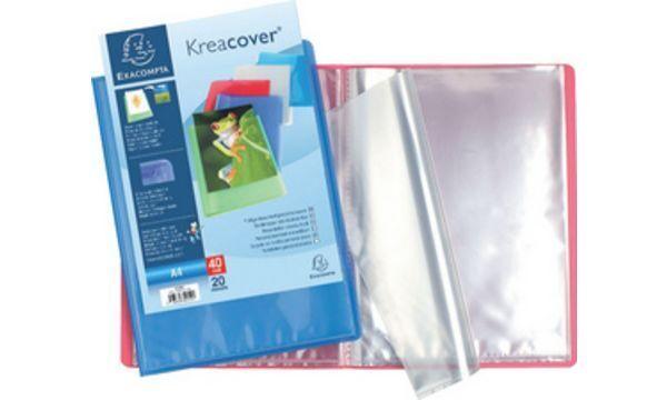12xEXACOMPTA Sichtbuch, DIN A4, PP, farbig sortiert | Neues Produkt  | Niedriger Preis und gute Qualität  | Kostengünstiger