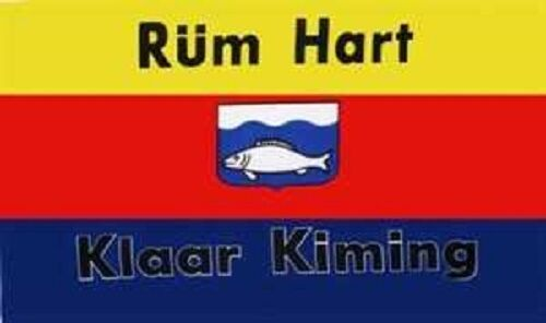 Rüm Hart Flagge 150 x 90 cm wetterfest Fahne Ösen innen außen Hissflagge Flag