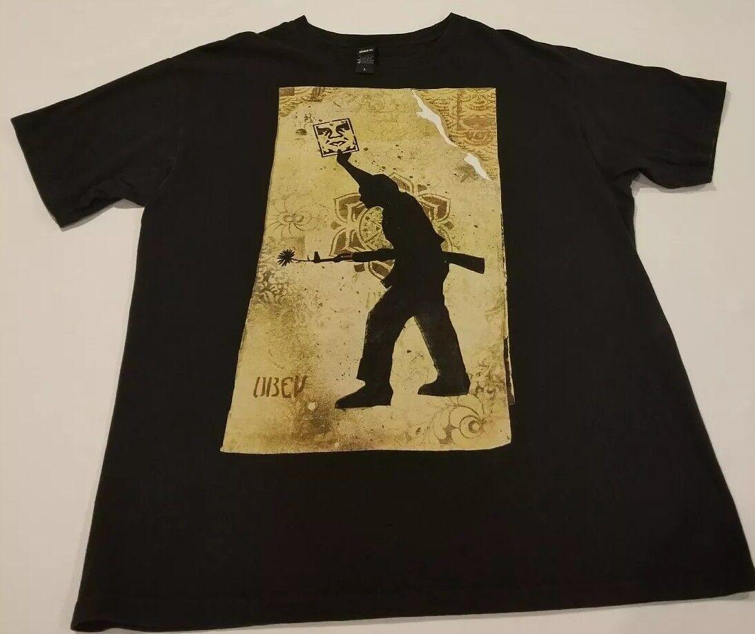 Obey propaganda shirt, T shirts for men large ori… - image 2