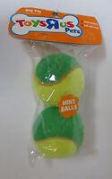 Toys R'us Pets Tuff Mint Flavored Tennis Balls 2 Pkdog Toy Multi Sensory Puppy