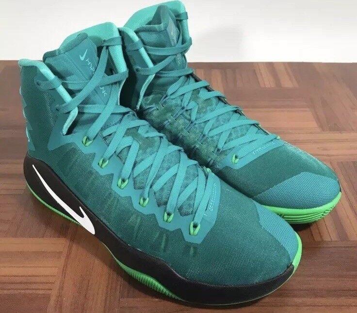Nike Mens  Hypertink 2016 Hi Top Turquoise Teal Premium Basketball scarpe -SZ 11.5  i nuovi marchi outlet online
