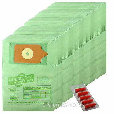 """30 x Vacuum Bags /& Cloth 12/"""" Filter for Numatic Henry Hetty George James Hoover"""