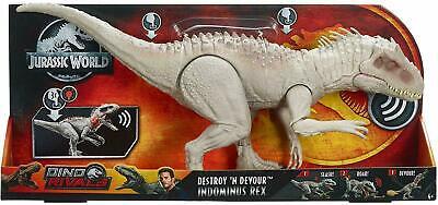 Jurassic World Dino Rivaux détruire /'N dévorer indominus Rex Jurassic Park Mattel