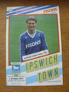 29081987 Ipswich Town v Stoke City  No Apparent Faults - Birmingham, United Kingdom - 29081987 Ipswich Town v Stoke City  No Apparent Faults - Birmingham, United Kingdom
