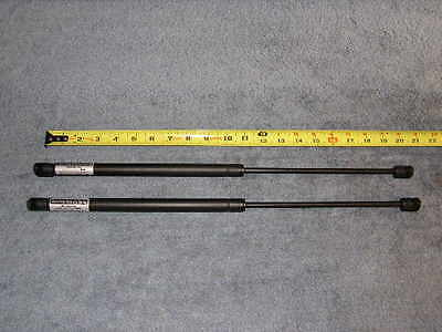 2 Qty 10mm Nylon End Lift Supports 23 Extended x 150lbs Struts Gas Springs