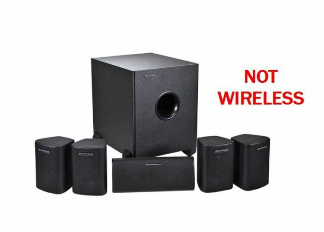 5.1 Home Speakers Home Theater Speaker System w/ Subwoofer Surround Sound Audio