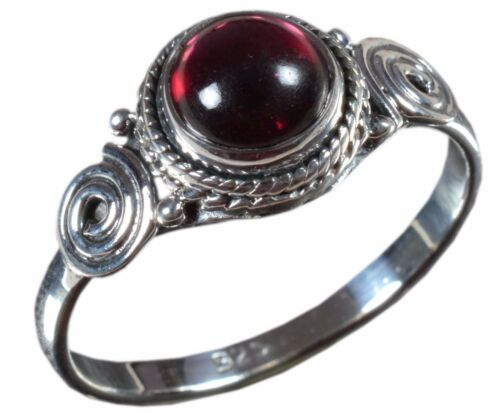 925 Solid Sterling Silver Ring Natural Multi Gemstones 3 to 14 US Size JR14