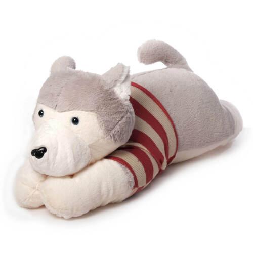 große Kuschelkissen Kinder XXL Kuscheltier Kissen Hund oder Husky 65-70 cm