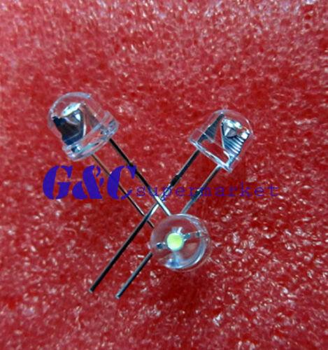 500pcs F5 5mm BLUE Straw Hat Superbright LED Light LED lamp GOOD QUALITY