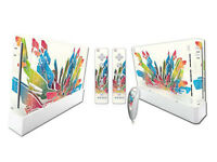 Nintendo Wii Skin Design Foils Aufkleber Schutzfolie Set - Colors Motiv