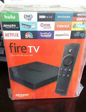 Amazon Fire TV Box 2017 version Alexa Voice Remote Control 4k New Packaged