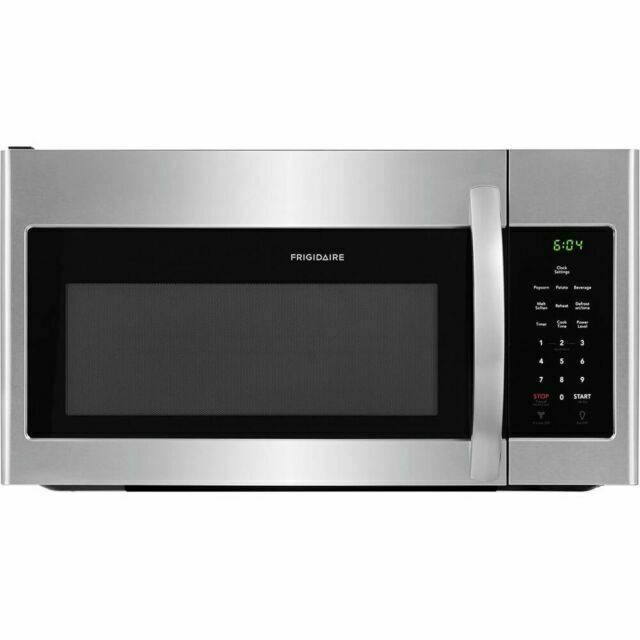 SEALED Frigidaire Stainless Steel 30'' Over-The-Range Microw