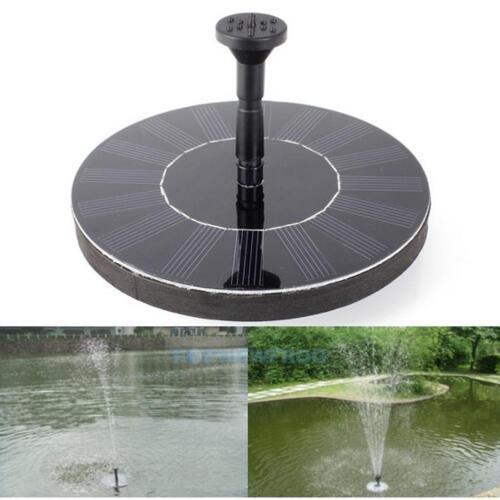 200L//H 1.4W Solar Teichpumpe Springbrunnen Pumpe für Garten Swimmingpool Teich