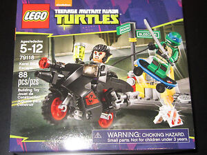 teenage mutant ninja turtles LEGO TNMT 79118 Karai Bike Escape RETIRED SET NEW