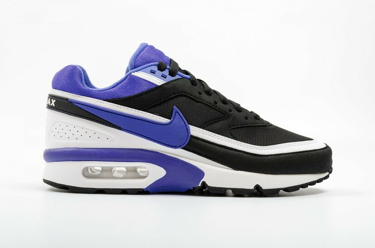 official photos abfa2 c142e durable modeling Nike Air Max BW OG Black Persian Violet White Mens Shoes  819522-051
