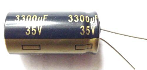 3300uf 35v 105c baja ESR tamaño 18mmx35.5mm Panasonic EEUFC 1V332