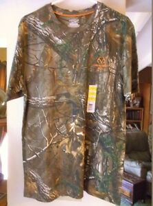 D Nice NEW Man's Camo Hunting Shirt, REALTREE Max-1 XT, Size 38-40, M Medium