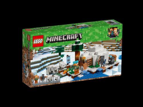 "LEGO® 21142 Minecraft™ /""Eisiglu/"" NEU /& OVP"