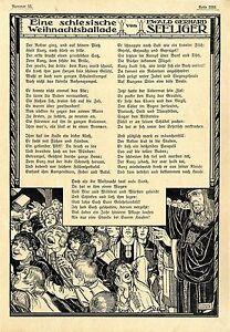 Details Zu Ewald Gerhard Seeliger Gedicht Eine Schlesische Weihnachtsballade Schmuck1908