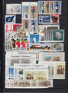 DDR-1986-ueberkompl-Jahrgang-postfrisch-incl-EZM-aus-Block-Klbg-ZD