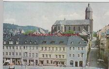 (88320) AK Annaberg-Buchholz, Markt mit Annenkirche, 1967
