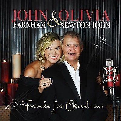 JOHN FARNHAM & OLIVIA NEWTON-JOHN (FRIENDS FOR CHRISTMAS CD SEALED + FREE POST)