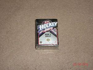 1990-91-Upperdeck-NHL-Hockey-High-Series-Card-Set-150-cards-Rookies-Traded